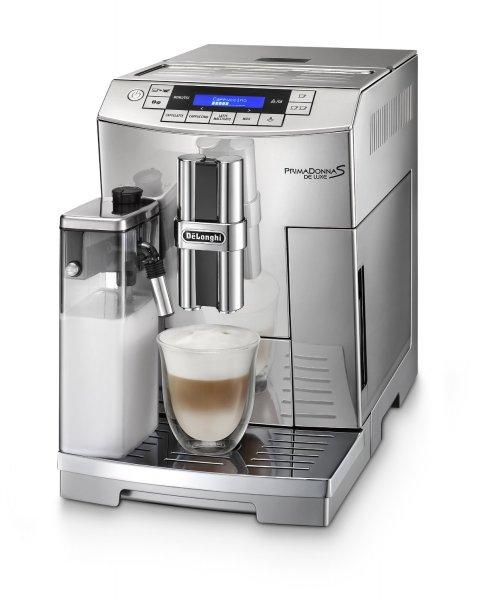 Amazon: DeLonghi ECAM 26.455.C Kaffeevollautomat PrimaDonna S De Luxe Chrome Line nur 759,-€