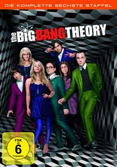 Big Bang Theory Staffel 6 auf DVD bei amazon für 24,97 EUR
