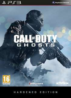 Call of Duty: Ghosts - Hardened Edition (PS3 & Xbox 360) für 55€ @amazon UK