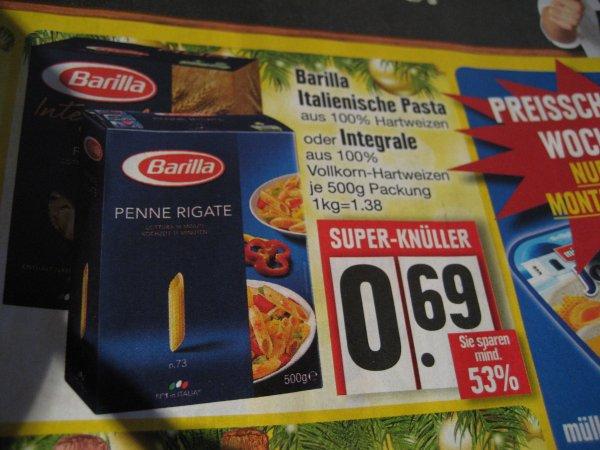 Edeka Barilla Italienische Pasta oder Integral ab Montag 9.12
