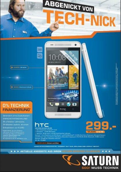 HTC One Mini Schwarz o. Silber