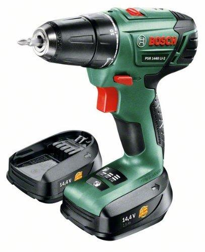 Bosch Bohrschrauber PSR 1440 LI-2, 2 Akku, 06039A3001 @Amazon Blitzangebote