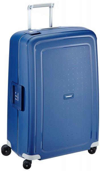 Samsonite Reisekoffer S'cure Spinner 75/28, 52 x 31 x 75 cm Größe L in  Rot u. Blau