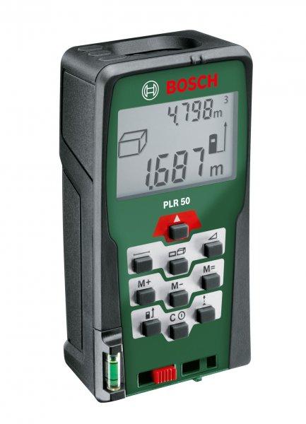 Bosch PLR 50 Laser-Entfernungsmesser für €78, nur heute im Amazon Adventskalender