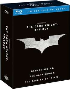 [UK] The Dark Knight Trilogy Blu-ray @ Zavvi inkl. Versand ab 19,33€