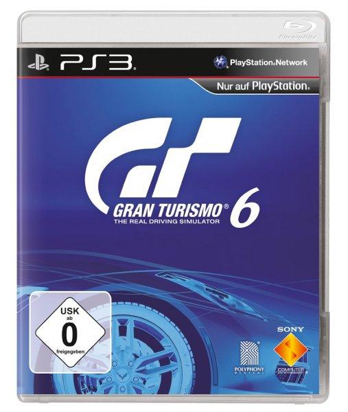 Gran Turismo 6 (GT6) für die Playstation 3 zum Top-Preis von 49,90€ portofrei