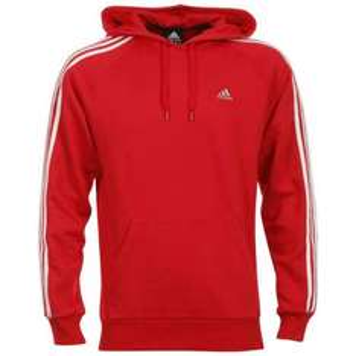@TheHut Adidas Essentials 3S Hoody - Rot