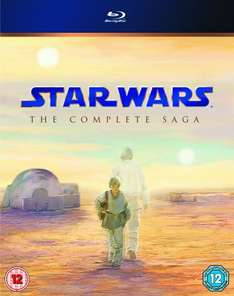 Star Wars: The Complete Saga (OT) [Blu-ray] für 47,31 €