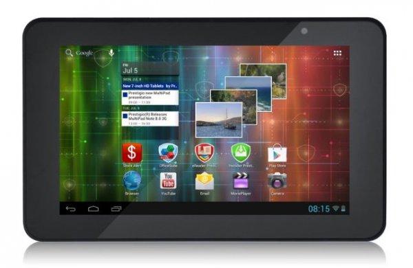 """Prestigio MultiPad 7.0 HD black mit 7"""" Display, 1GB RAM, 4GB und Android 4.1 (PMP3970B_DUO) @NBB"""