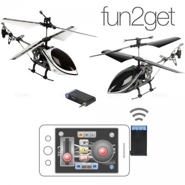 [ebay.de] fun2get i-helicopter für das Smarphone nur 9,99 Euro inkl. Versand