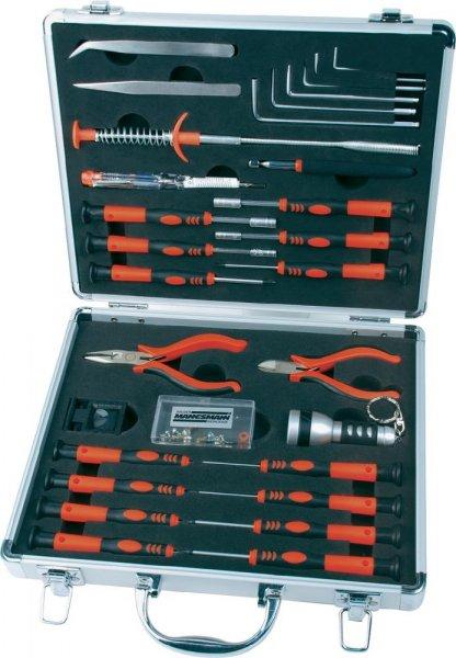 Mannesmann M29015 Werkzeugkoffer/Werkzeugsatz 30tlg. € 17,95 (inkl. Versand) @ voelkner.de