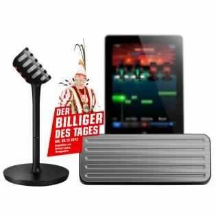 Philips The Voice AEA7000/10 Bluetooth-Lautsprecher mit Mikrofon für 66€ @Redcoon