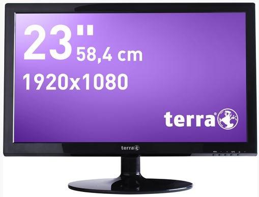 """Terra LED LCD Monitor 23"""" Zoll mit eingebauten Lautsprechern für 99€"""