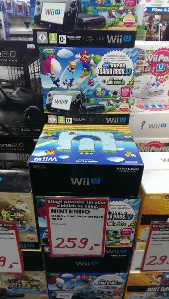 [Lokal Aachen] Nintendo Wii U Mario + Luigi Premium pack