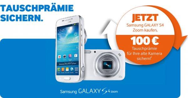 Samsung Galaxy S4 Zoom  für 199 Euro inkl. 100 Euro Cashback!!!