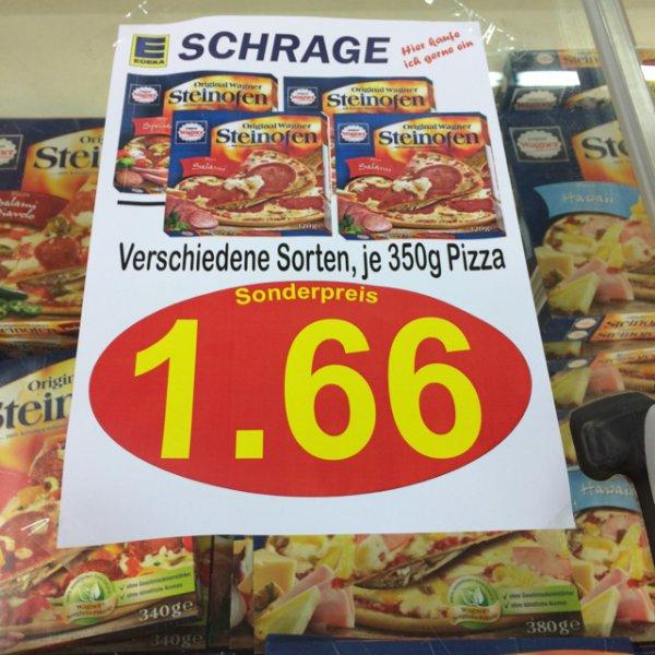 Wagner Steinifen Pizza (Edeka, lokal? OS)
