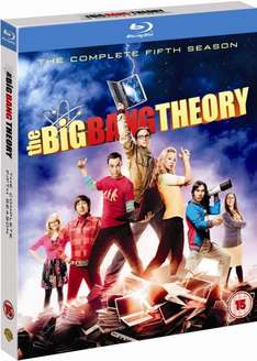 Blu-ray Box - The Big Bang Theory: Season 5 (O-Ton)(2 Discs) für €8,34 [@Zavvi.com]