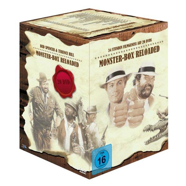 [Bücher.de]Bud Spencer & Terence Hill (20-DVDs) Monster-Box Reloaded o. Vsk für 49,99 €