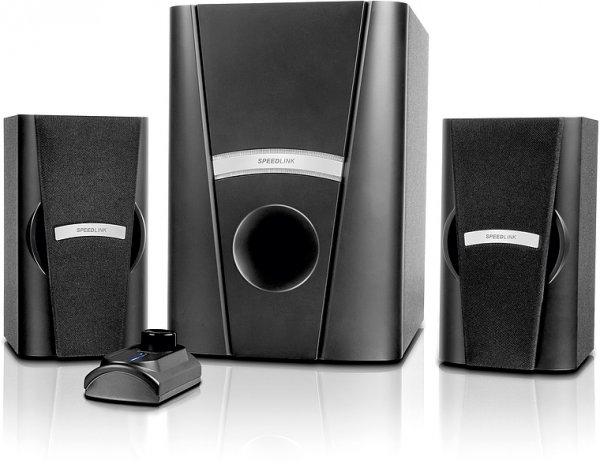 [Media Markt Online] SPEEDLINK SL-8265-BK PHOBOS 2.1 Subwoofer System schwarz   VSK-frei 22€