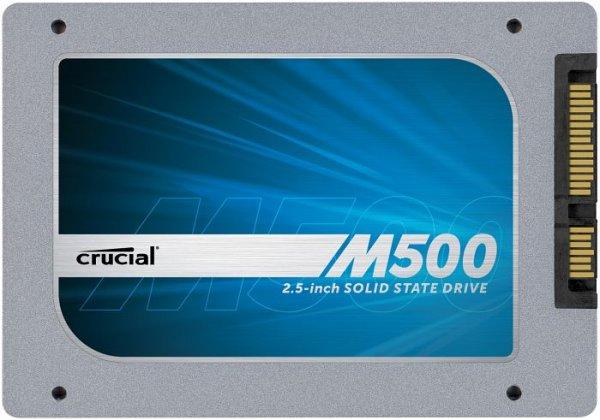 CRUCIAL M500 480 GB 2,5 Zoll SSD  222 € @ Amazon.de