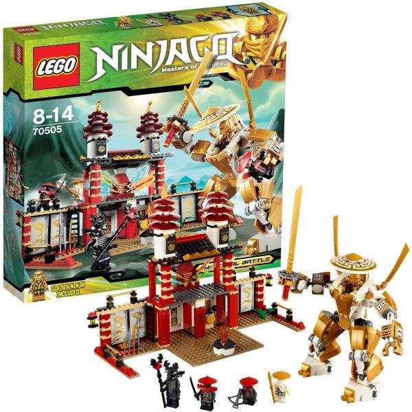 LEGO 70505 Ninjago: Tempel des Lichts @ mytoys.de für 33,94€