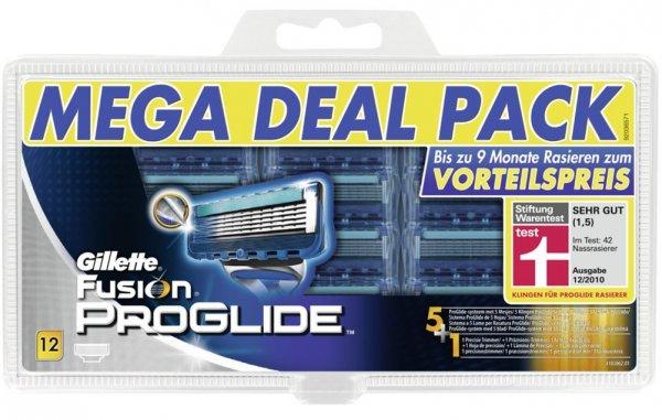 Ab Morgen 10 Uhr: Gillette Fusion ProGlide Klingen (12 Stück) für ca. 33,72 Euro bei Amazon