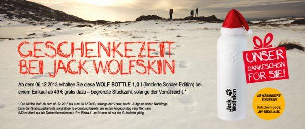 Jack Wolfskin Wolf Bottle gratis ab 49 EUR
