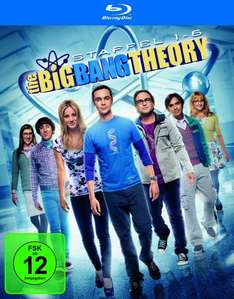 Blu-ray: The Big Bang Theory Staffel 1-6 Box (Season 1+2+3+4+5+6 Set, deutsch, 12 Blu-ray Discs) € 81,97 (Versandkostenfrei) @ amazon.de