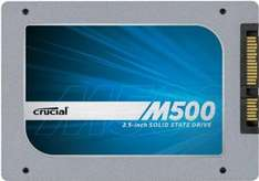 Crucial M500 interne 480GB SSD für 222€ (MediaMarkt Konter) @amazon