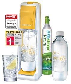 Sodastream Cool inkl. 1 PET Flasche + Zylinder bei REWE 29,99€