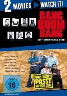 Bang Boom Bang - Ein todsicheres Ding / Was nicht passt, wird passend gemacht [2 DVDs] für 8,99 EUR