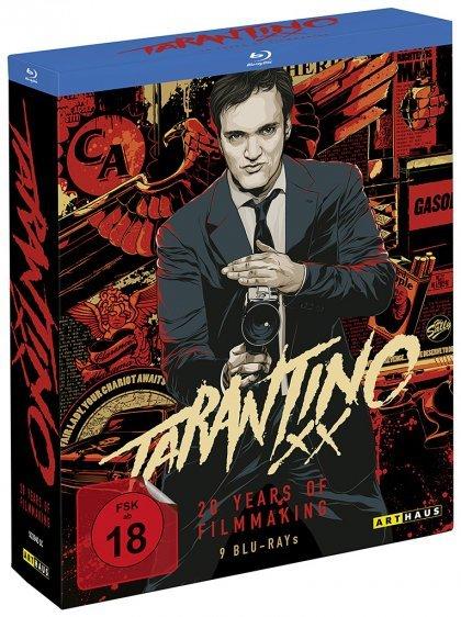 Tarantino XX (Blu-ray) bei media-dealer, 9 Discs (qipu möglich)