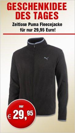 Puma Fleecejacke ESS - nur heute 29,95 EUR