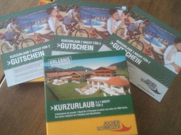 Jochen Schweizer Gutschein von Privat pay what you want!!!