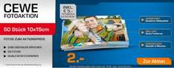 [saturn.de] 50 Fotos 10x15cm inkl. 5€ Fotobuch GS nur 2,99€