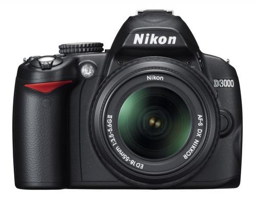 Nikon D3000 + Nikon 18-55 + Nikon-Tasche + 8 GB SDHC Karte für 400€ [LOKAL Regensburg]
