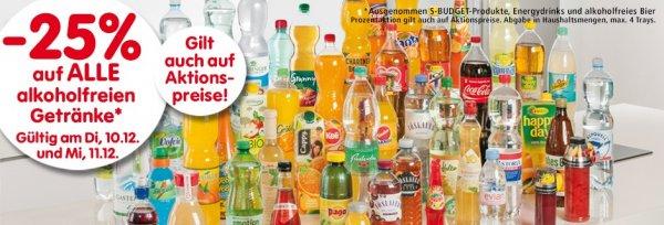 [Österreich] Interspar 25% Rabatt auf alkoholfreie Getränke - 1,5l Nestea 0,67 EUR