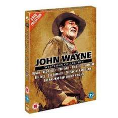 The John Wayne Westerns Collection - 9DVDs, @bee.com