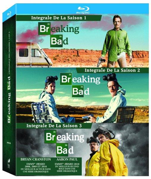 Breaking Bad - Staffel 1-3 - Blu-ray für 46€ @Amazon.fr