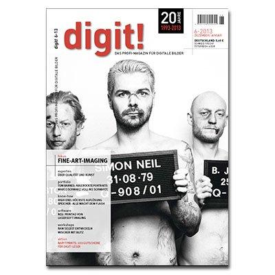 1x digit GRATIS - Das Profi-Magazin für digitale Bilder