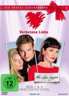 DVD-Geschenkboxen für je 19,95 €: Marienhof / Verbotene Liebe / GZSZ