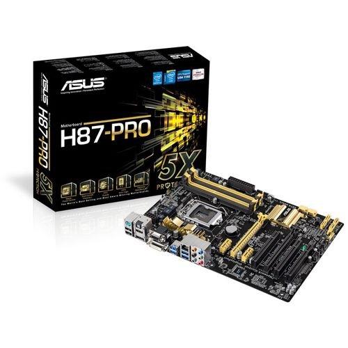 """Asus™ - Desktop ATX Mainboard """"H87-Pro (C2)"""" (LGA1150) für €79,90 [@ZackZack.de]"""