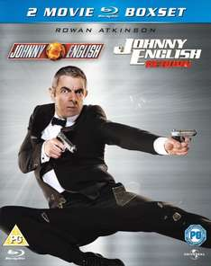 [WowHD.co.uk] Johnny English 1 & 2 [Blu-ray] für 8,35 €