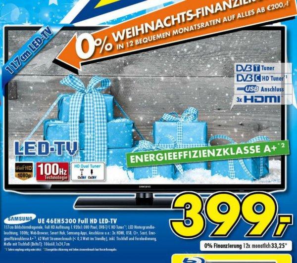 Samsung UE46EH5300 399€ Lokal[Euronics Ratingen]