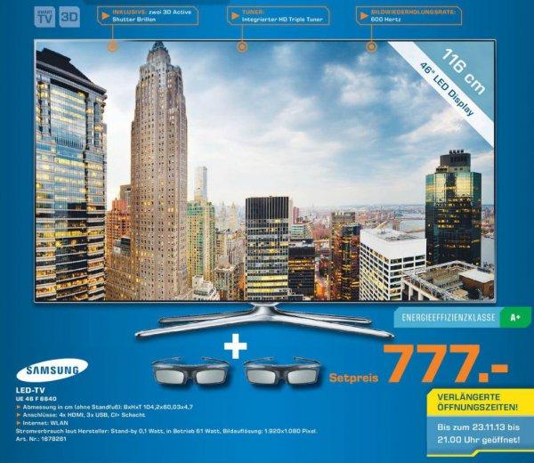 Samsung UE46F6640 777€ Lokal [Saturn Leverkusen]
