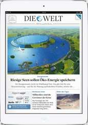 iPad Air 16 GB Wifi mit DIE WELT DIGITAL Komplett + ePaper für 479,76 Euro