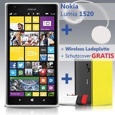 Nokia Lumia 1520 inkl. Wireless Ladegerät und Nokia Cover
