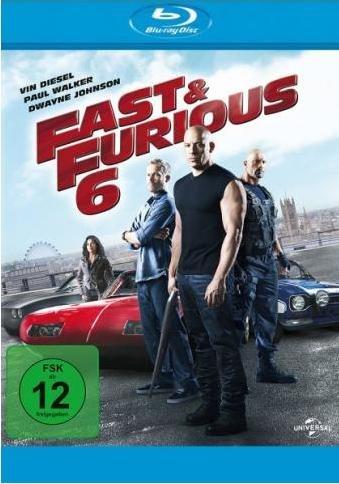 Fast & Furious 6 (Blu-ray) für 11,88€