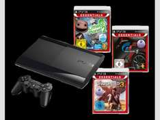 [Media-Markt] Playstation 3 (PS3) Super Slim 12GB incl. Gran Turismo 5 + Little Big Planet 2 + Uncharted 3: Drake's Deception