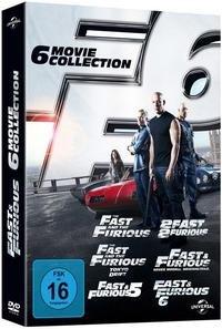 Fast & Furious 1-6 Box - DVD - bei buch.de